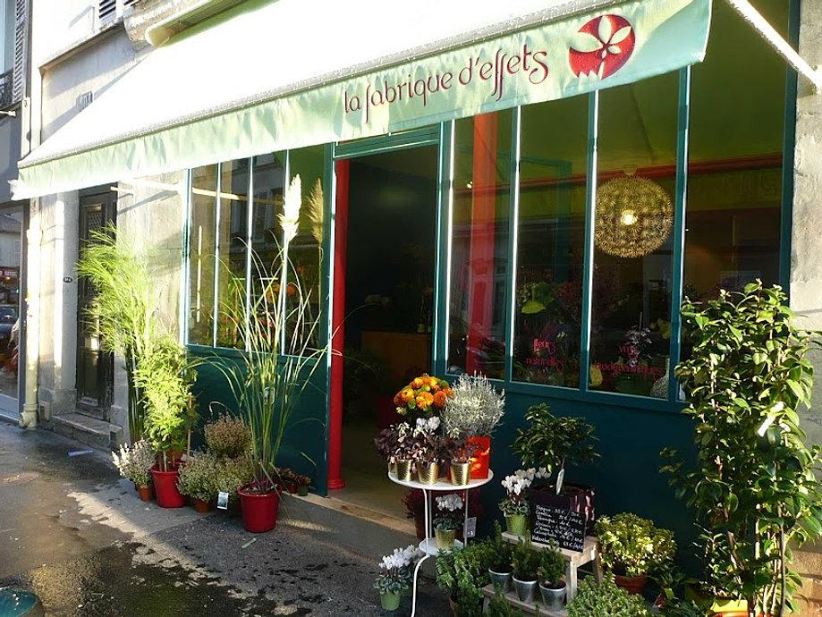 La fabrique d effets fleuriste paris 17 fleurs bouquets for Livraison plantes paris