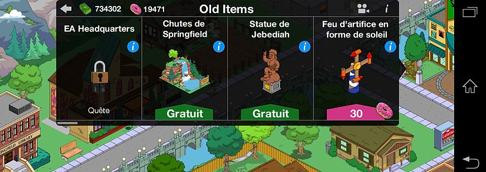The Simpsons Springfield Donut Hack The Simpsons Tapped Out Donuts