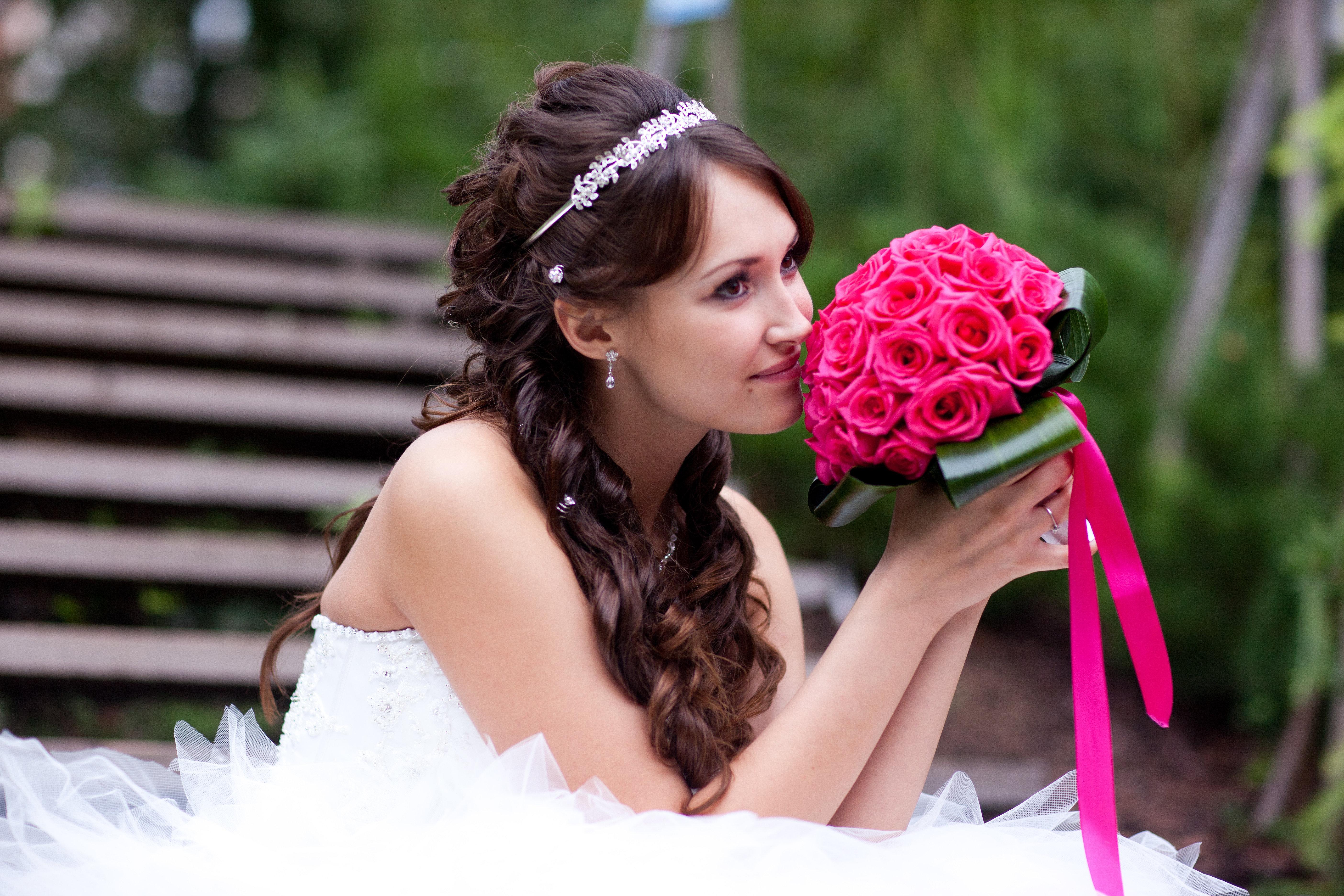 свадебные прически и макияж в москв
