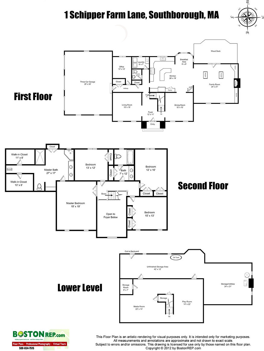 floorplans for 1 schipper farm lane