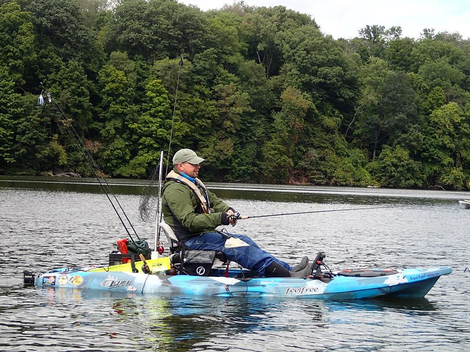 Buckeye kayak fishing trail for Buckeye lake fishing