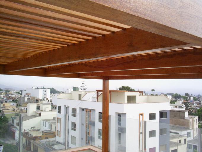 Techos de madera 8 techos de madera car interior design - Techos de maderas ...