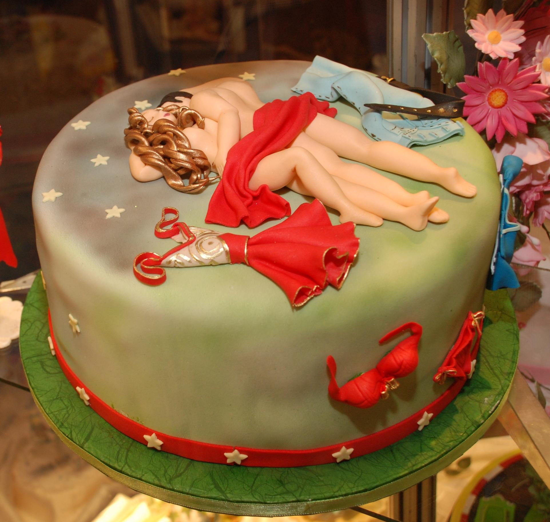 Секс с тортом фото 8 фотография