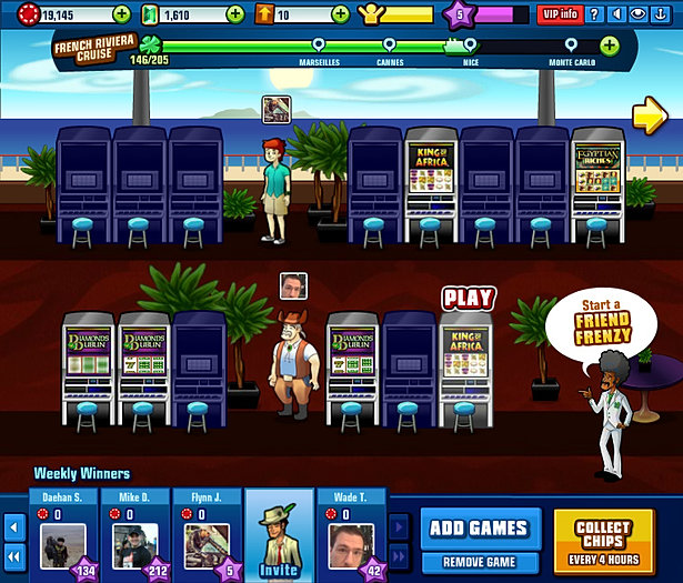 Lucky cruise slots