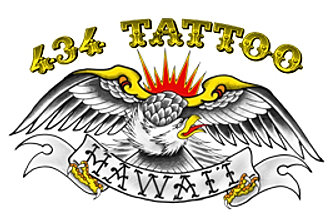 434 Tattoo , Custom Tattooing LLC, Honolulu, Hawaii
