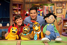 The cast of The Chica Show