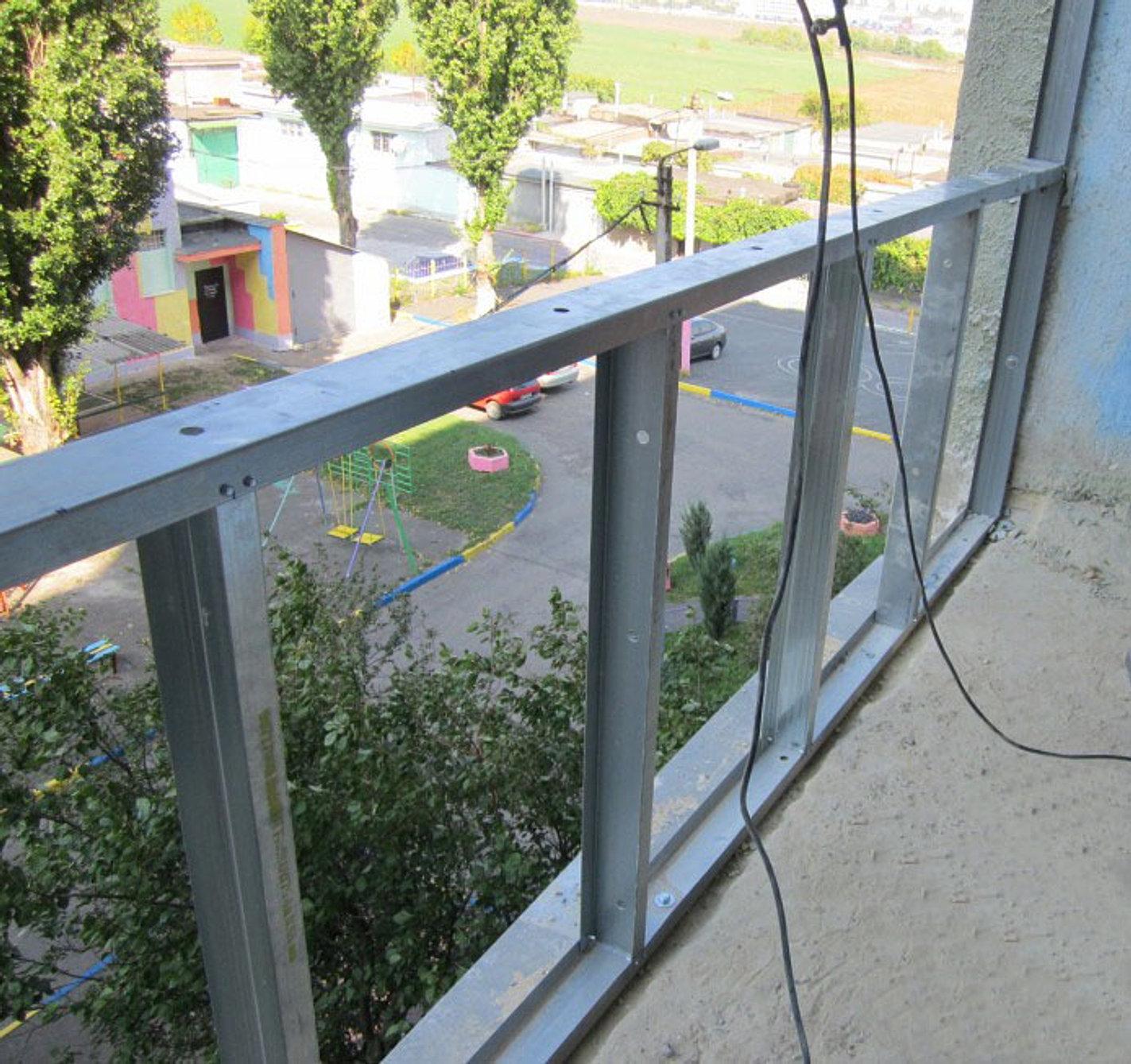Каркасный балкон своими руками 697