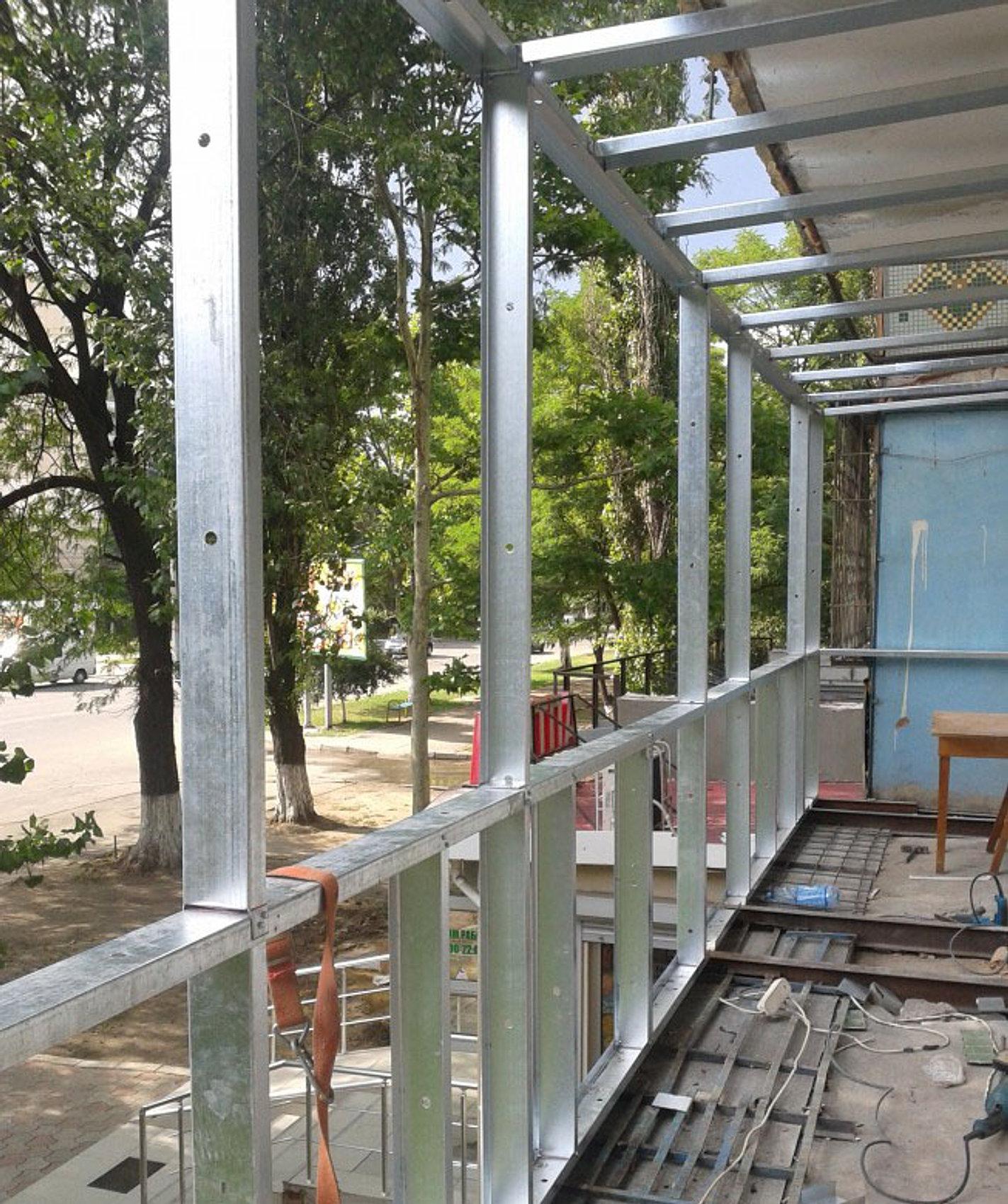 Современные балконы в москве. modern balcony.