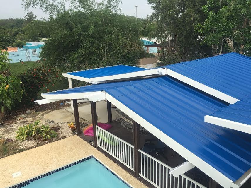 Techos de aluminio techos de metal techo de galvalum for Tirol en techos de casas