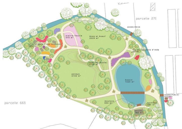 Architecte paysagiste en dordogne parcfloral for Jardin 5 thoiry