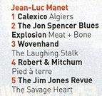 Les Inrockuptibles - Top 5 de 2012