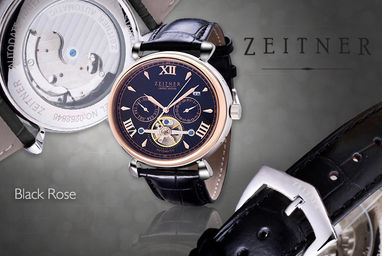 Zeitner Coutre Automatic Ladies Watch With Original Box ...