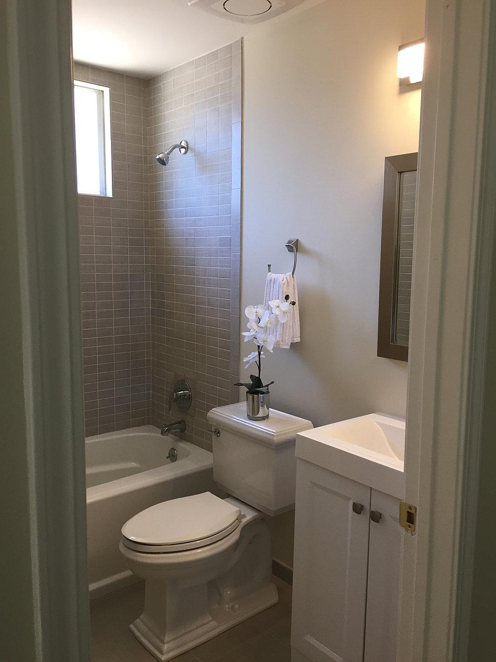 Turning a closet into a bathroom