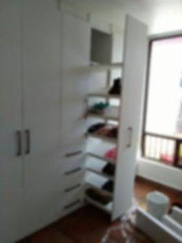 closet sobre diseño