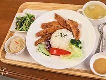 美雅家具花園廚房:豬排輕食套餐