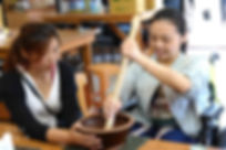 新元昌紅茶文化館體驗磨製擂茶
