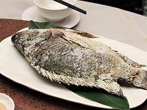 新綠農園:鹽烤的台灣鯛