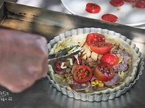稻荷咖工作坊窯烤披薩:擺上喜愛的食材
