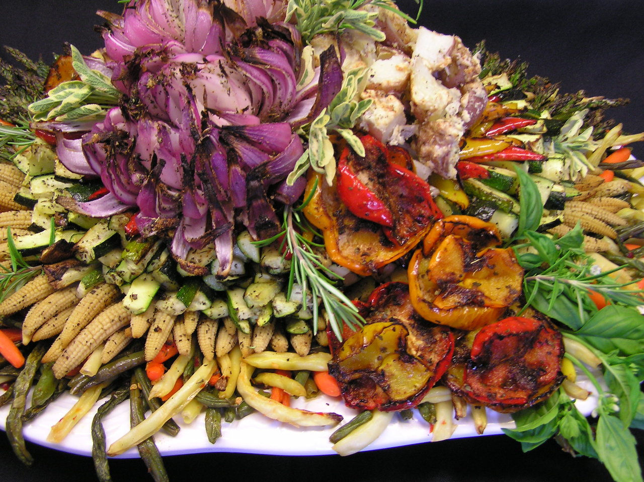 Roasted Vegetable Catering