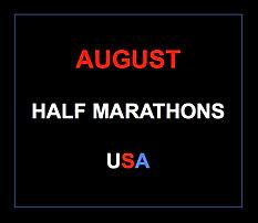 August half marathons 2015