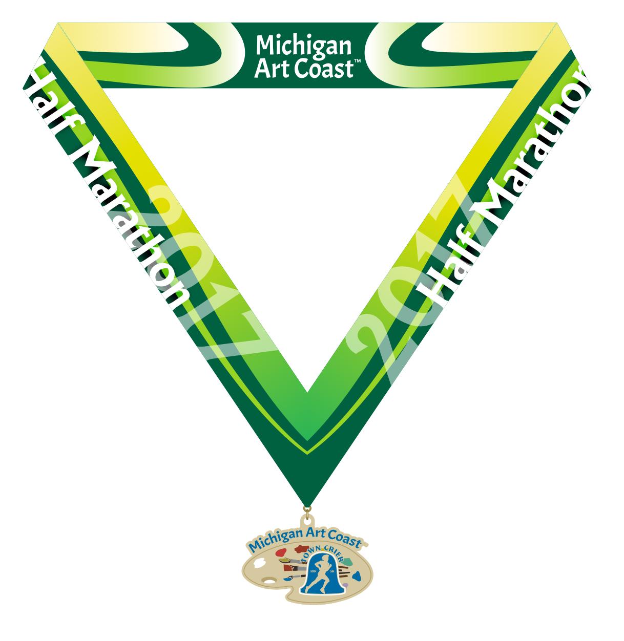 Inaugural Michigan Art Coast Half Marathon in Saugatuck, MI