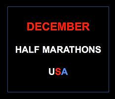 December half marathons 2014