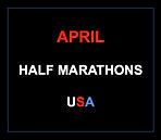 April half marathons 2016