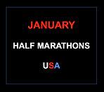 January half marathons 2017