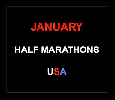 January half marathons 2015