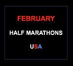 February half marathons 2017