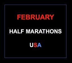 February half marathons 2015