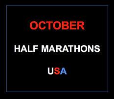 October half marathons 2015