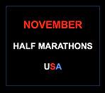November half marathons 2016