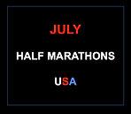 July half marathons 2016