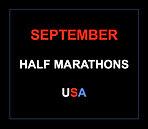 September half marathons 2016