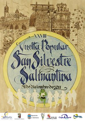 cartel sansilvestre salmantina 2011 la paridera de ideas tres.png
