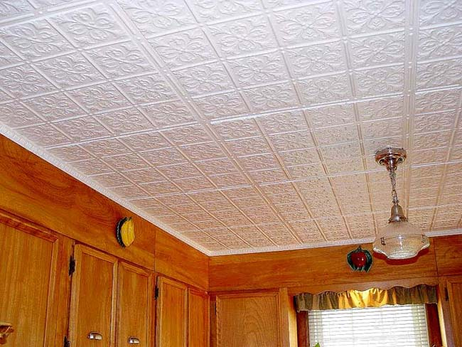 Ремонт потолка кухни своими руками