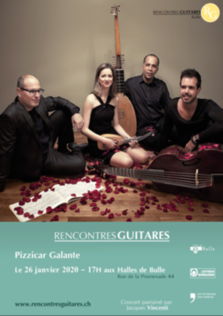 Pizzicar Galante Concert Guitare 26 janvier 2020 RencontresGuitares