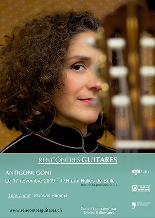 Antigoni Goni - Concert 17 novembre 2019 -RencontresGuitares - Bulle