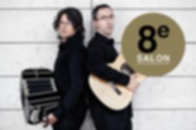 8e SALON des RencontresGuitares Duo Bandini Chiachiaretta
