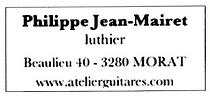 Parrain Philippe Jean-Mairet les RencontresGuitares de Bulle