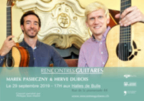 Marek Pasieczny & Hervé Dubois - Concert 29 septembre 2019 - Bulle