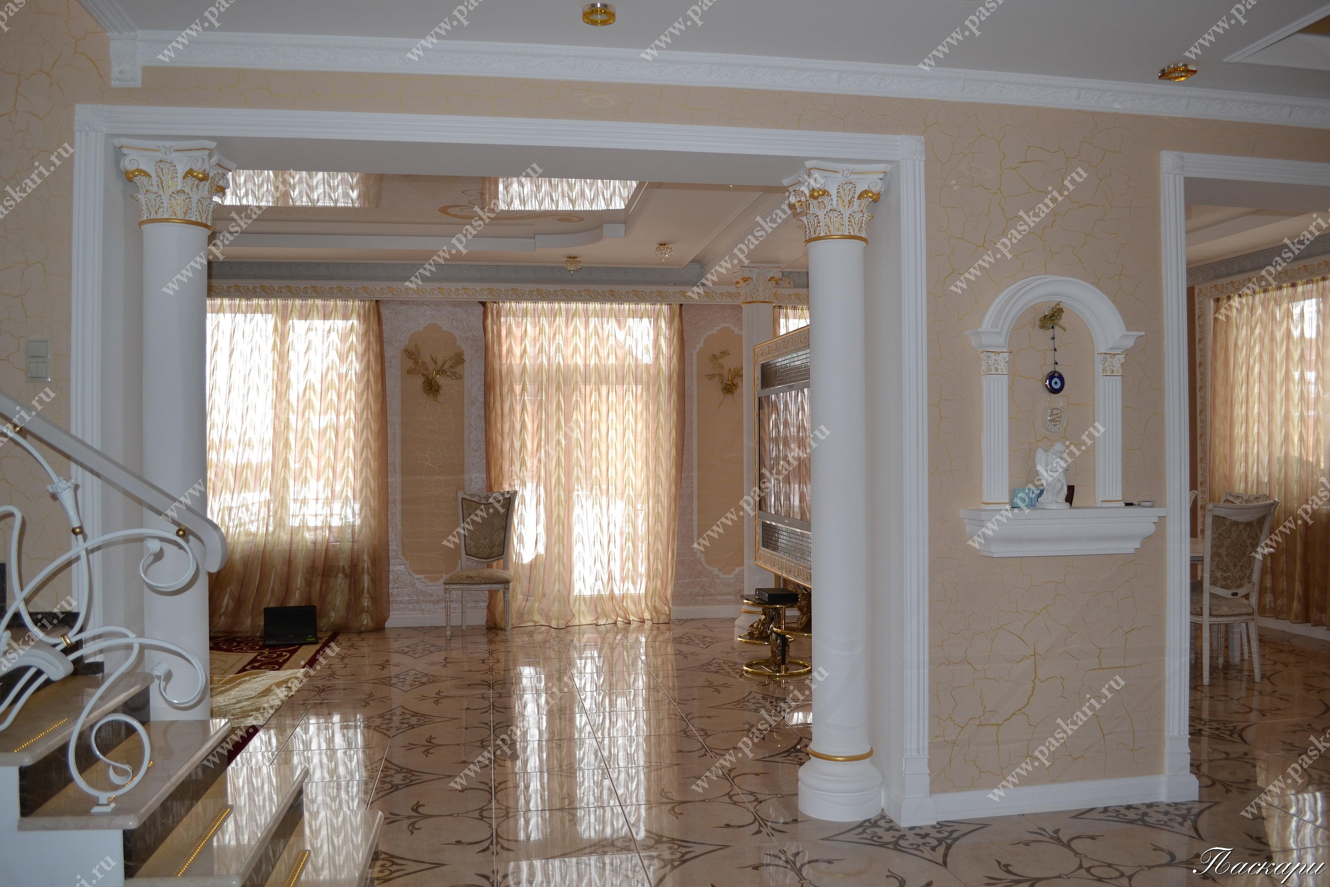 лепнина в доме фото