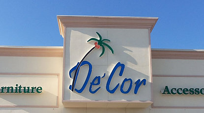 Decor Design center Store Front-Pensacola FL - Perdido Key