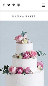See All Templates website templates – Celebration Cakes