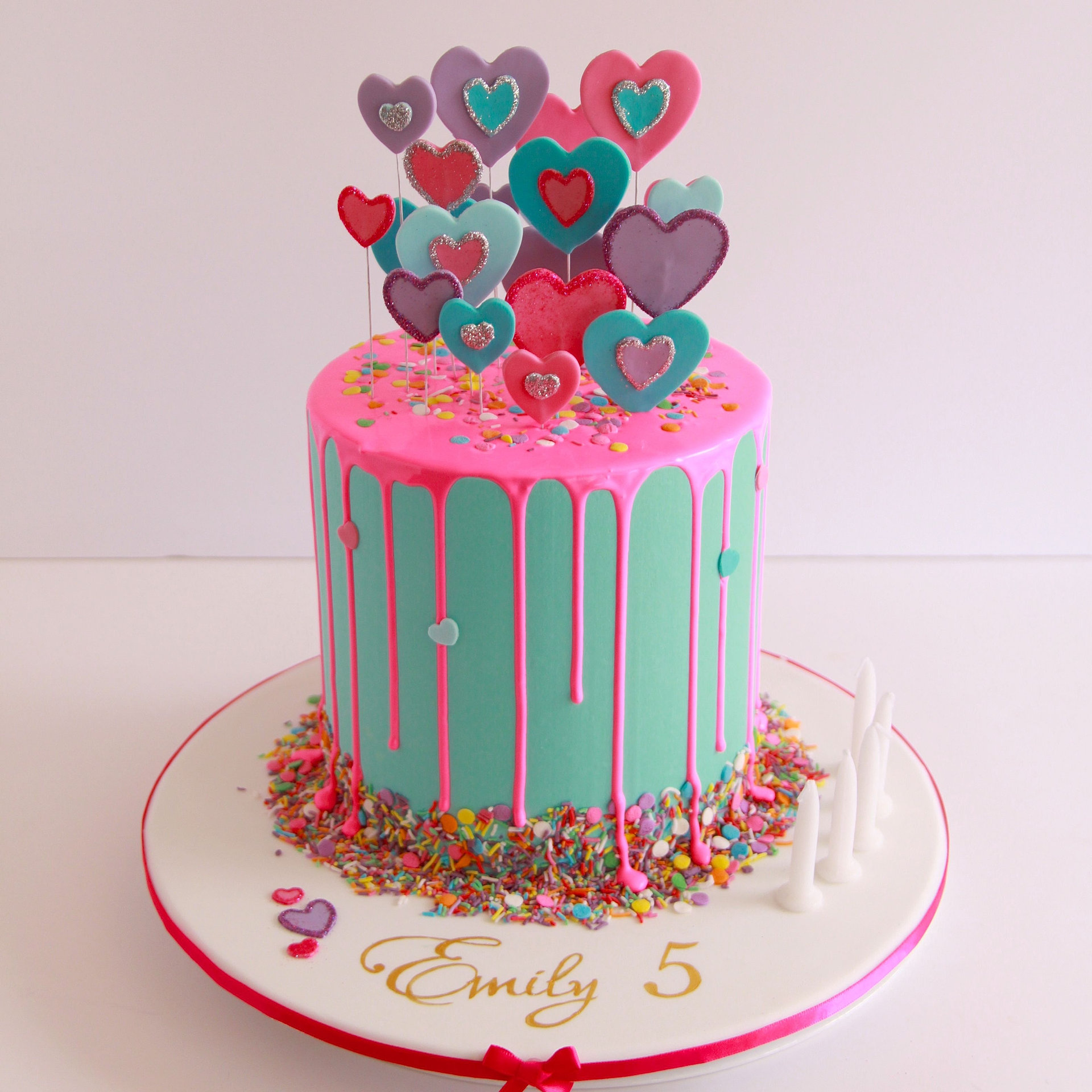 Love Heart Birthday Cake Ideas