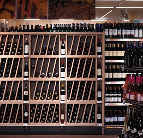 Bodegas para vinos free botellero barrica de vino mueble - Muebles para bodegas ...