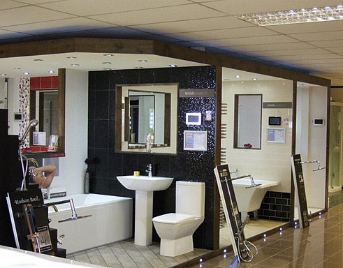 db property showroom installations