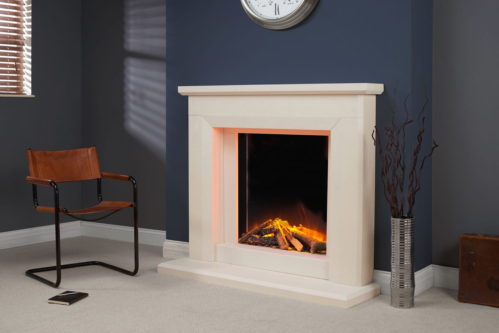 Marissa Fireplace Surround By Worcesetrshire Marble