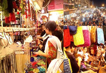 Shopping at Bohri Bazaar, Nainital